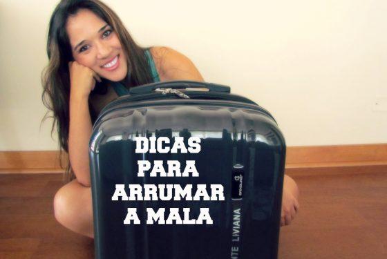 [Vídeo] Dicas para arrumar a mala