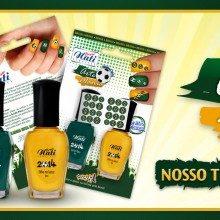 Passe Nati lança coleçao de esmaltes para a Copa