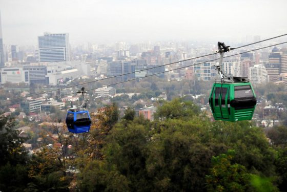 Volta a funcionar o Teleférico do Cerro San Cristobal