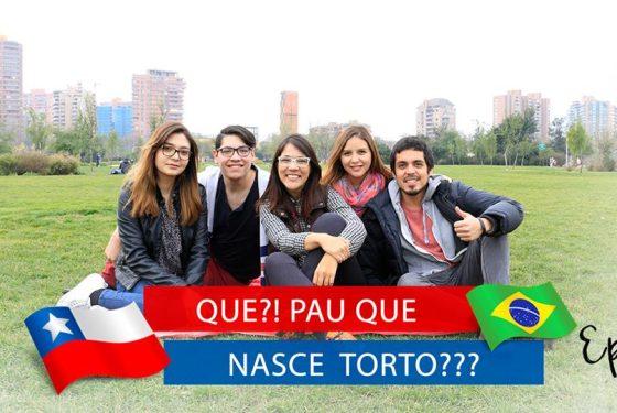 Chilenos interpretando expressões Brasileiras